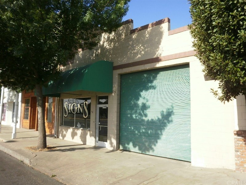 Front of building on Tehama St